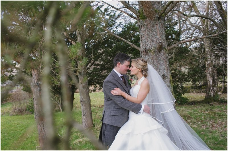 Strathblane Country House Hotel Wedding | Carron and Steff