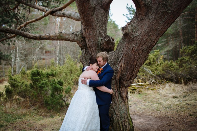 Loch Morlich Wedding | Neil and Jen