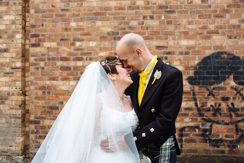 Bright Quirky Glasgow Wedding | Annmarie and Malcolm