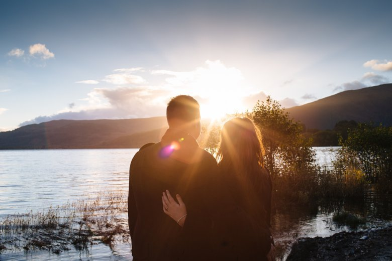 Loch Lomond Engagement | Alice and Stephen