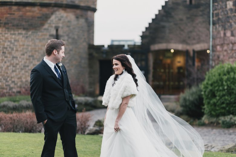 Edinburgh Castle Wedding | Hayley and Ryan