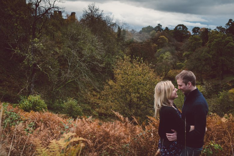 Castle Campbell Engagement | Izzy and Neil