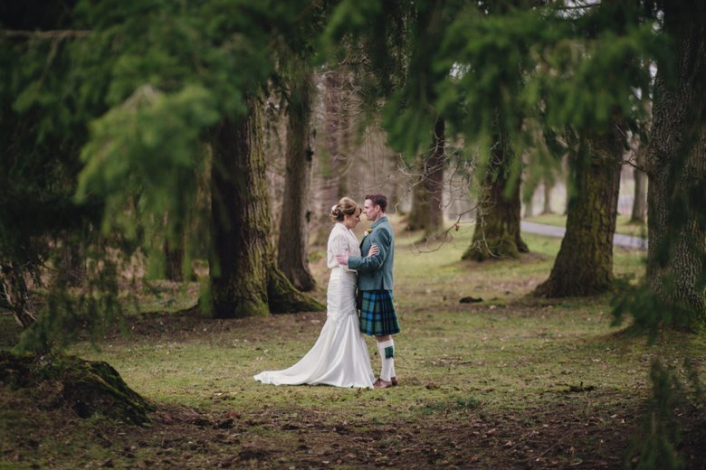 Ballathie House Spring Wedding | Sam and Rob
