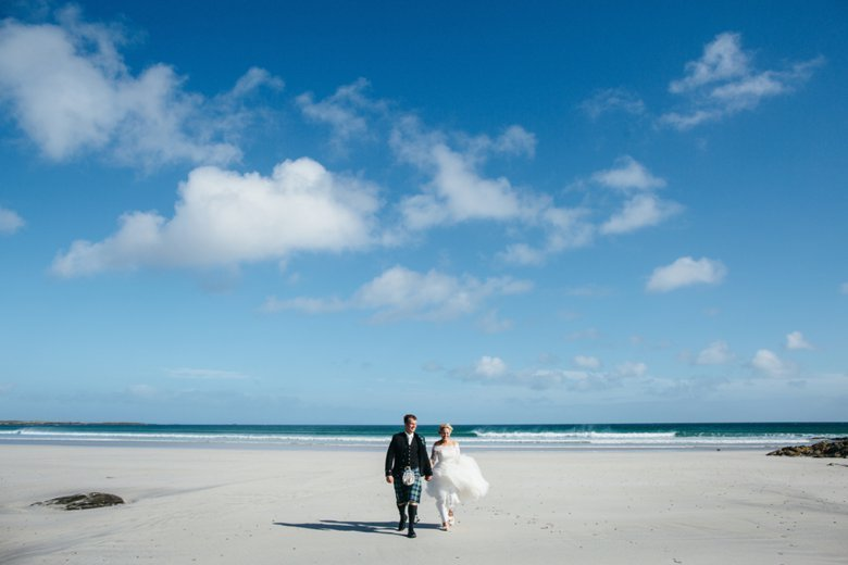 Isle of Tiree Wedding | Caroline and Ross