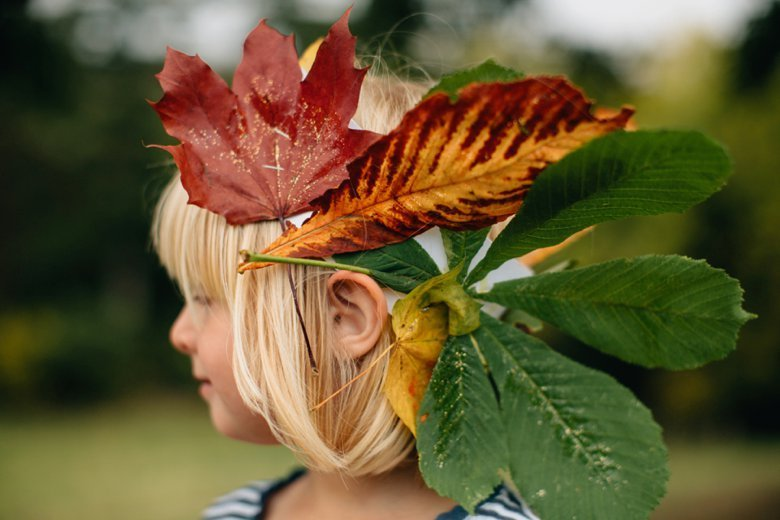 Autumn Princesses | Floral Crown Inspiration