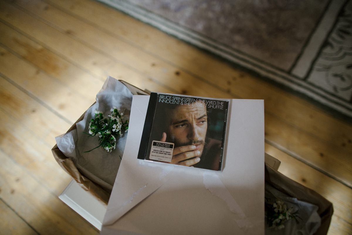 bruce springsteen cd groom's gift to bride