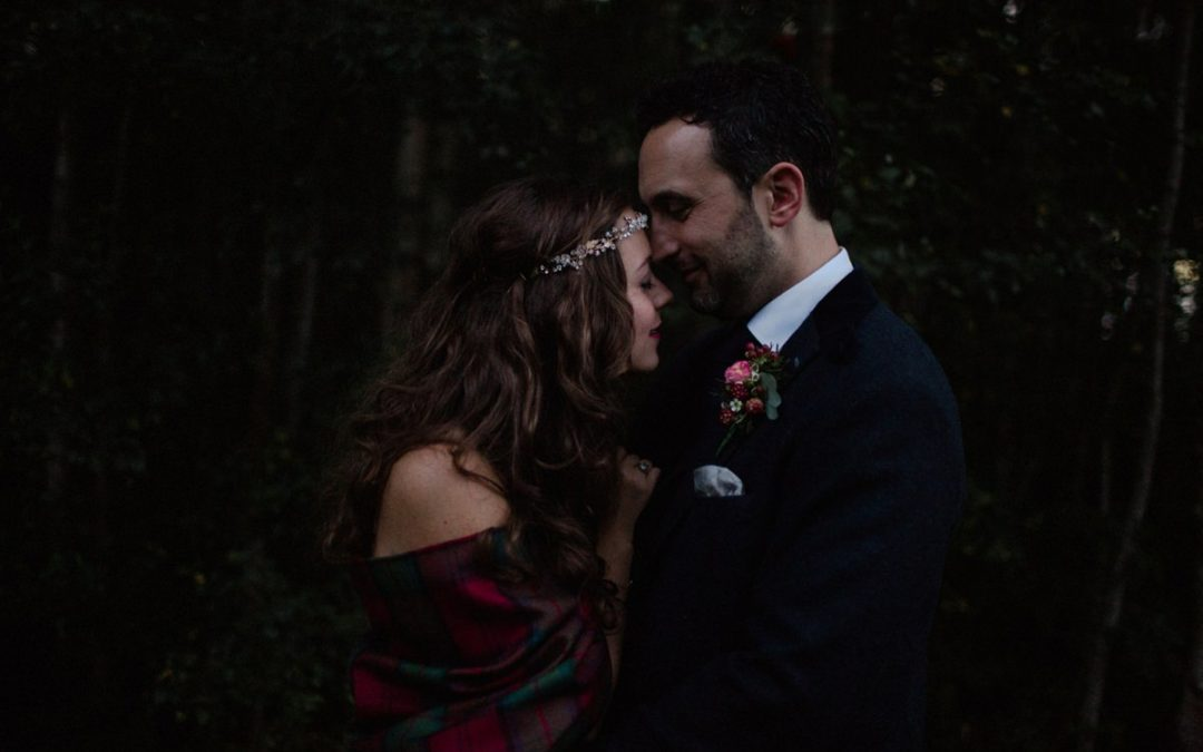 Achnagairn Woodland Wedding | Bianca and Gylen