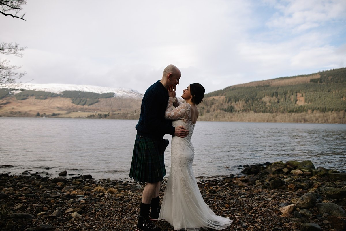 First kiss by Loch Tay