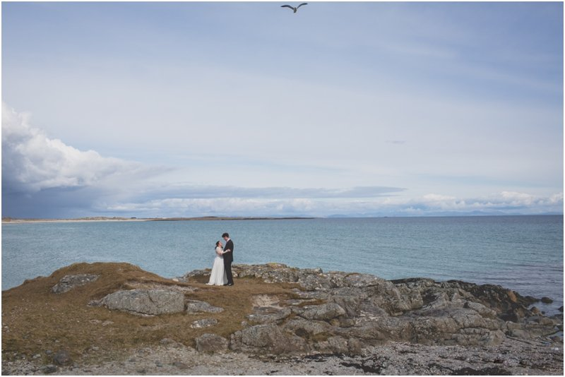 Isle of Tiree Wedding for Miriam and Oliver