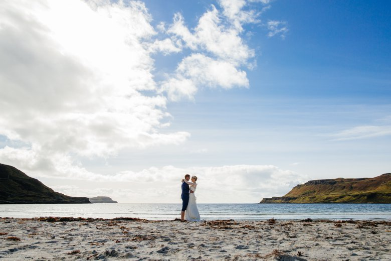 Isle of Mull Beach Wedding | Sarah and Neil
