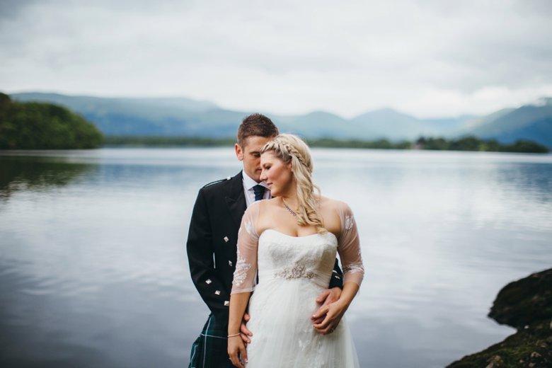 Loch Lomond Wedding   Hazel and Kris