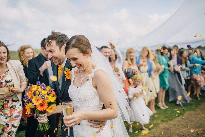 Harvest Moon Holidays Glamping Wedding | John and Naomi