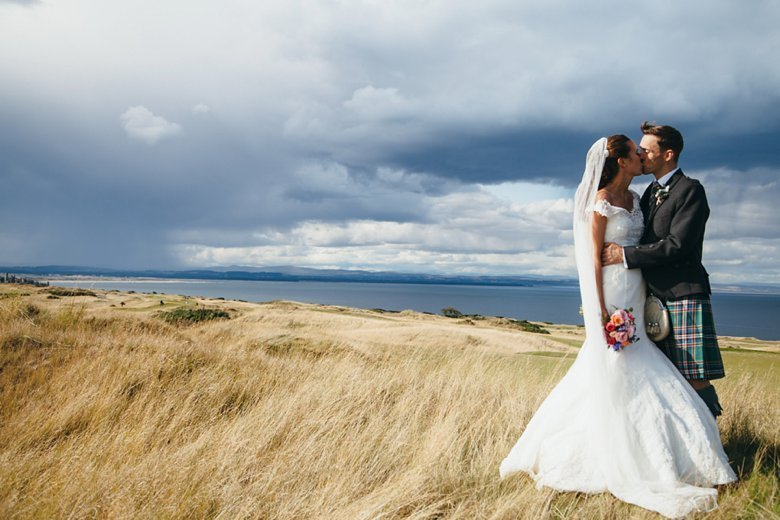 Kinkell Byre Summer Wedding | Samantha and David