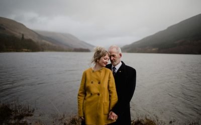 Monachyle Mhor Elopement – Jane and John