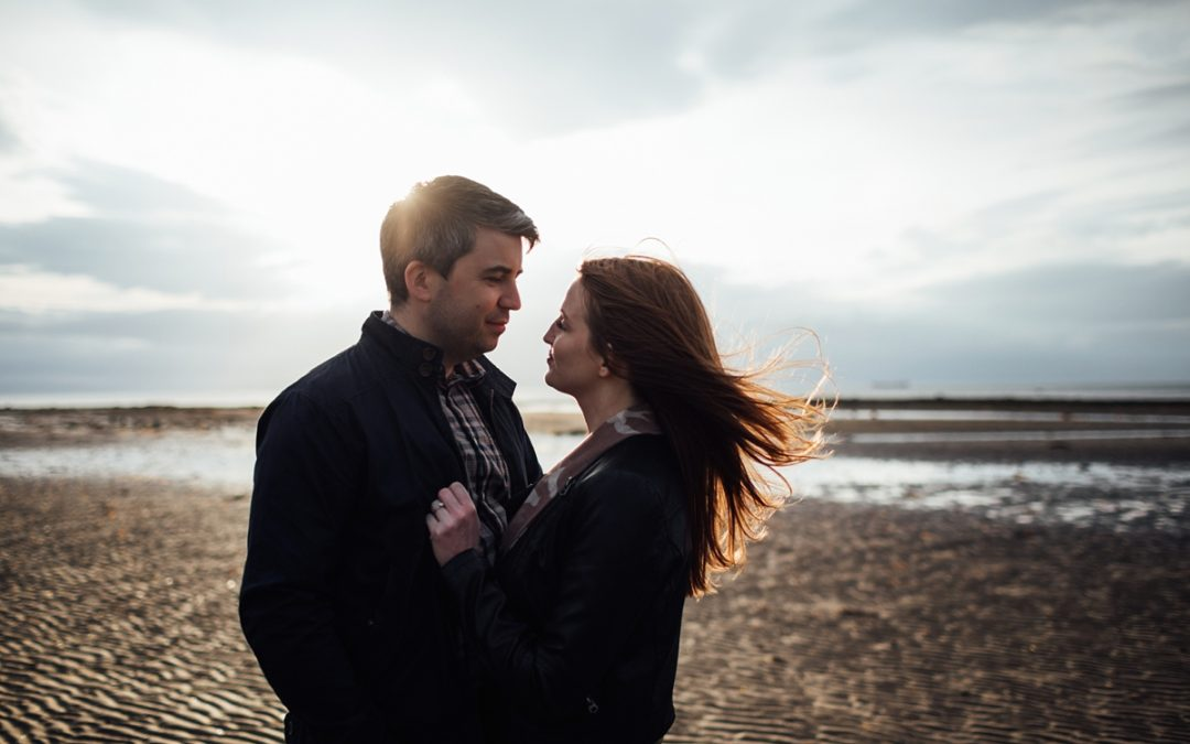 Ayrshire Beach Engagement | Joanna and David