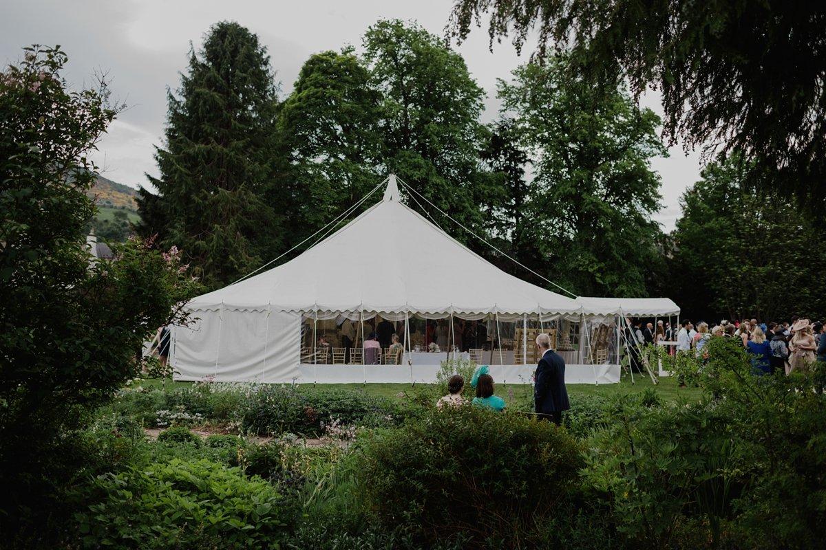 harmony house marquee garden wedding