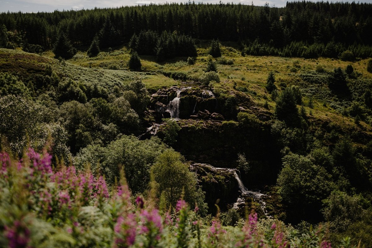 The Loup of Fintry in Summer