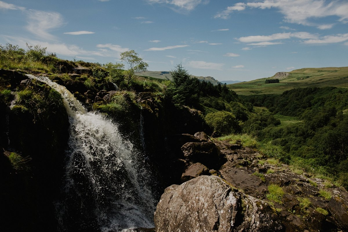 the loup of fintry waterfall