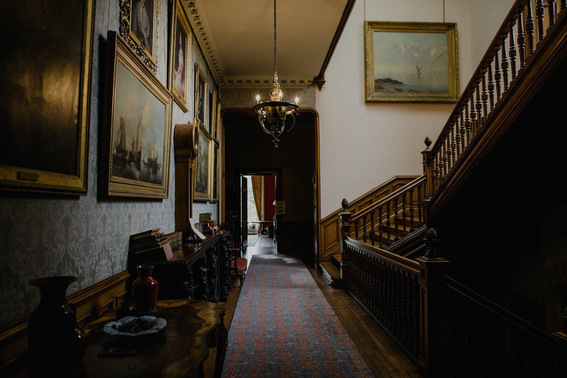 Interior of Cambo House, Cambo Estate