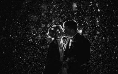 Christmas Wedding at a Scottish Castle | Amanda and Lorenzo