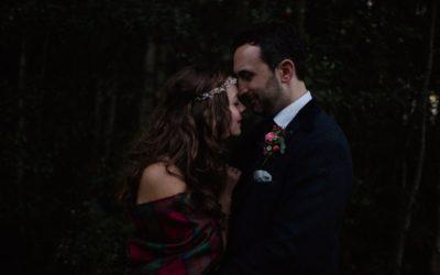 Achnagairn Woodland Wedding   Bianca and Gylen