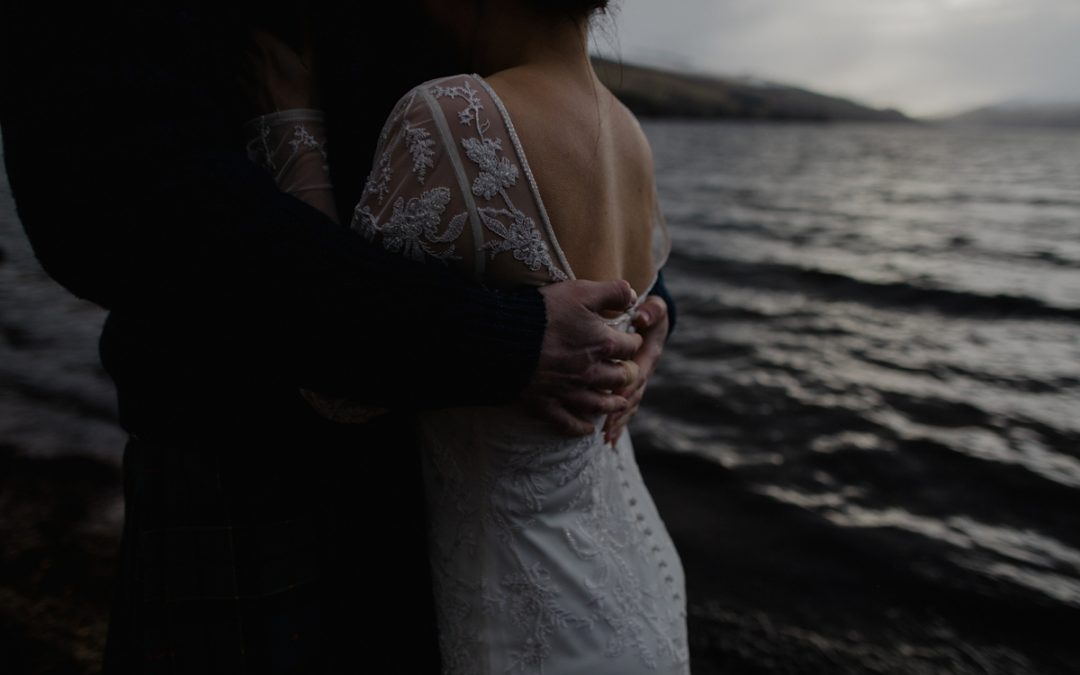 Oyster Boathouse Loch Tay Winter Elopement | Fiona and John