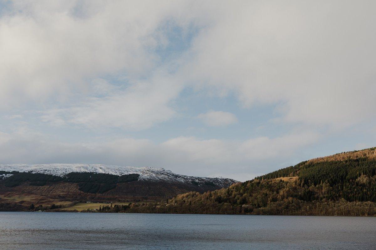 views over loch tay