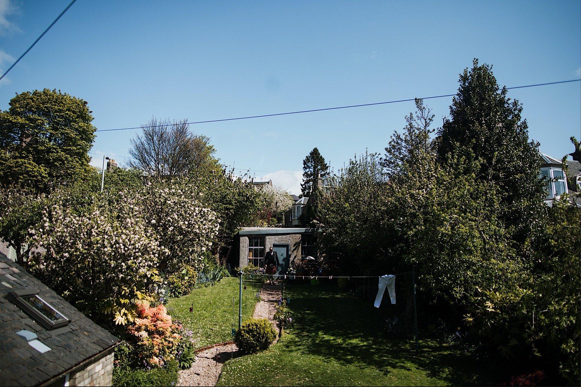 view of spring garden