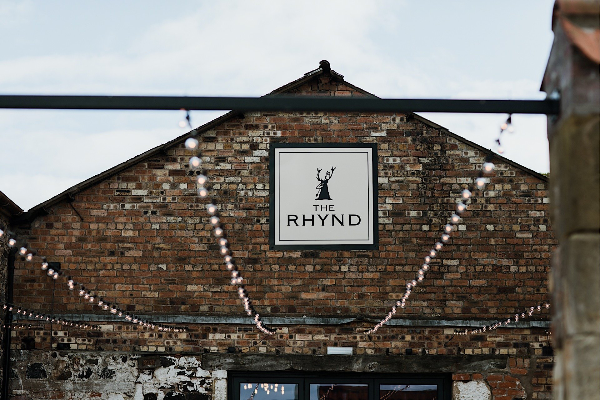 of the Rhynd venue outside Wedding