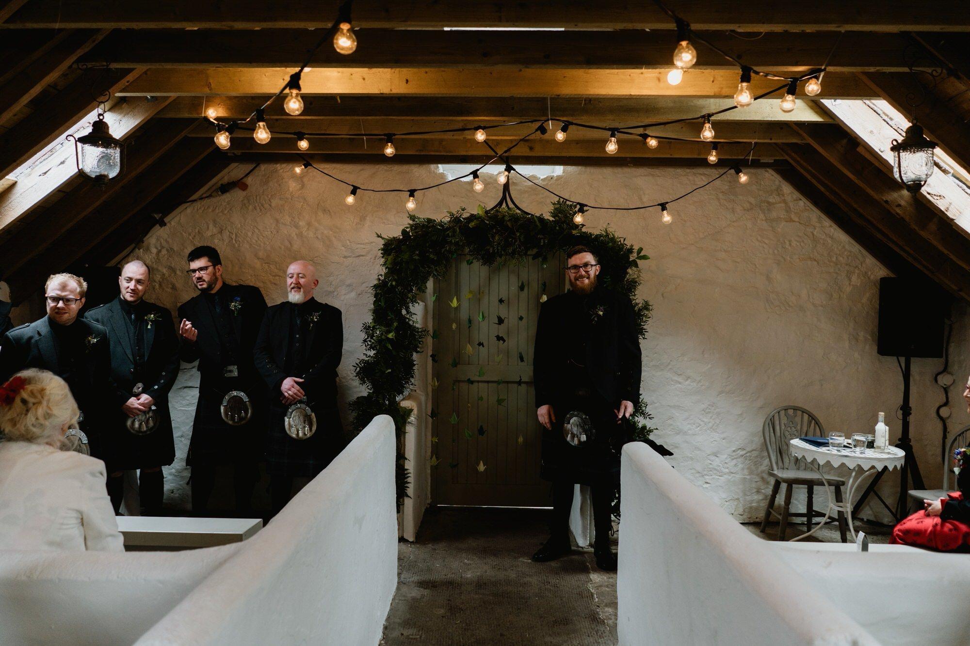 015 TIN SHED KNOCKRAICH WEDDING AUSTRIAN SCOTTISH ZOE ALEXANDRA PHOTOGRAPHY