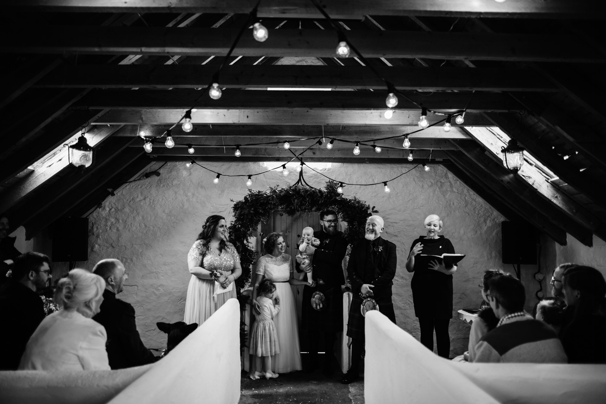 021 TIN SHED KNOCKRAICH WEDDING AUSTRIAN SCOTTISH ZOE ALEXANDRA PHOTOGRAPHY