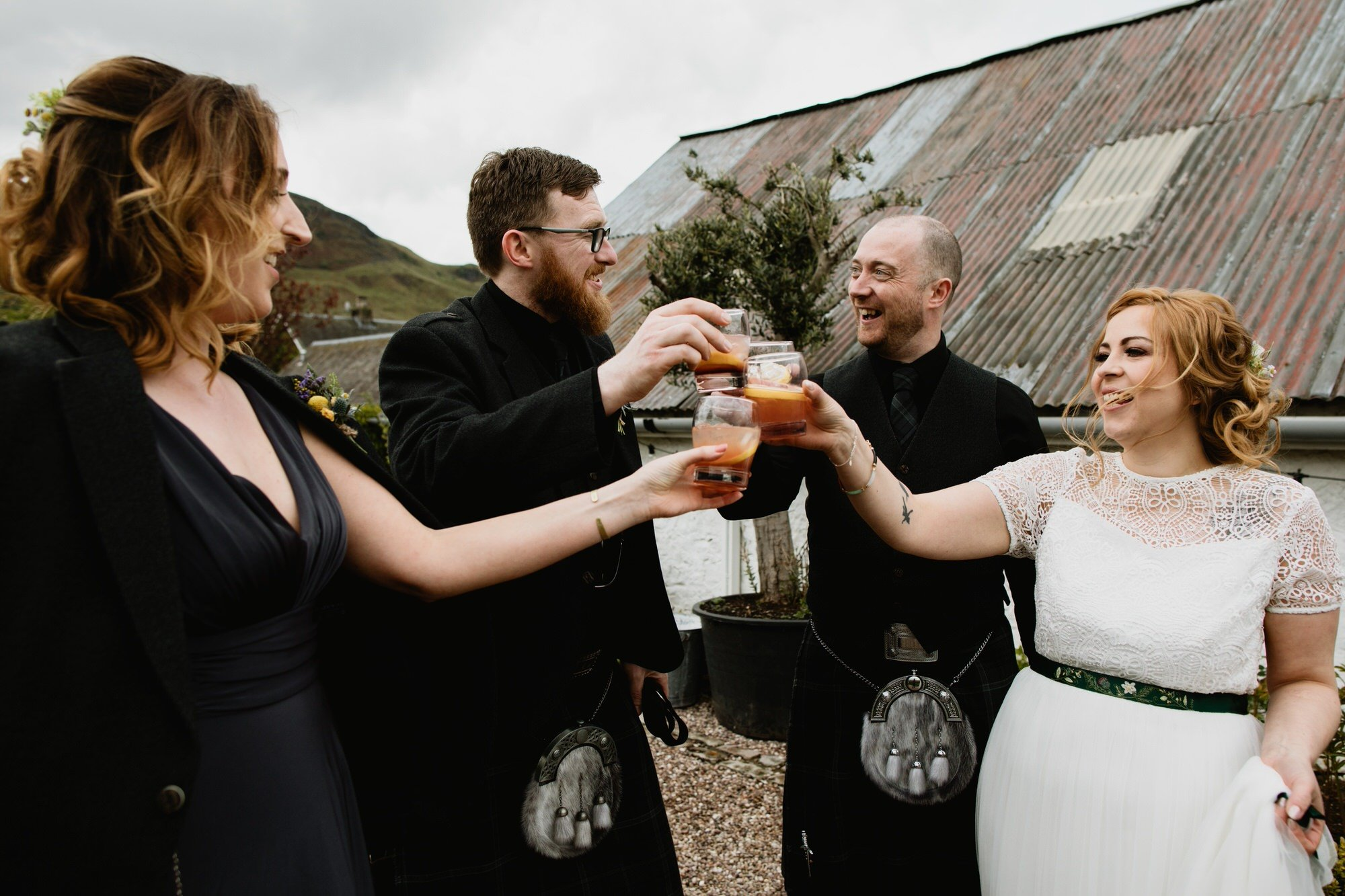 034 TIN SHED KNOCKRAICH WEDDING AUSTRIAN SCOTTISH ZOE ALEXANDRA PHOTOGRAPHY