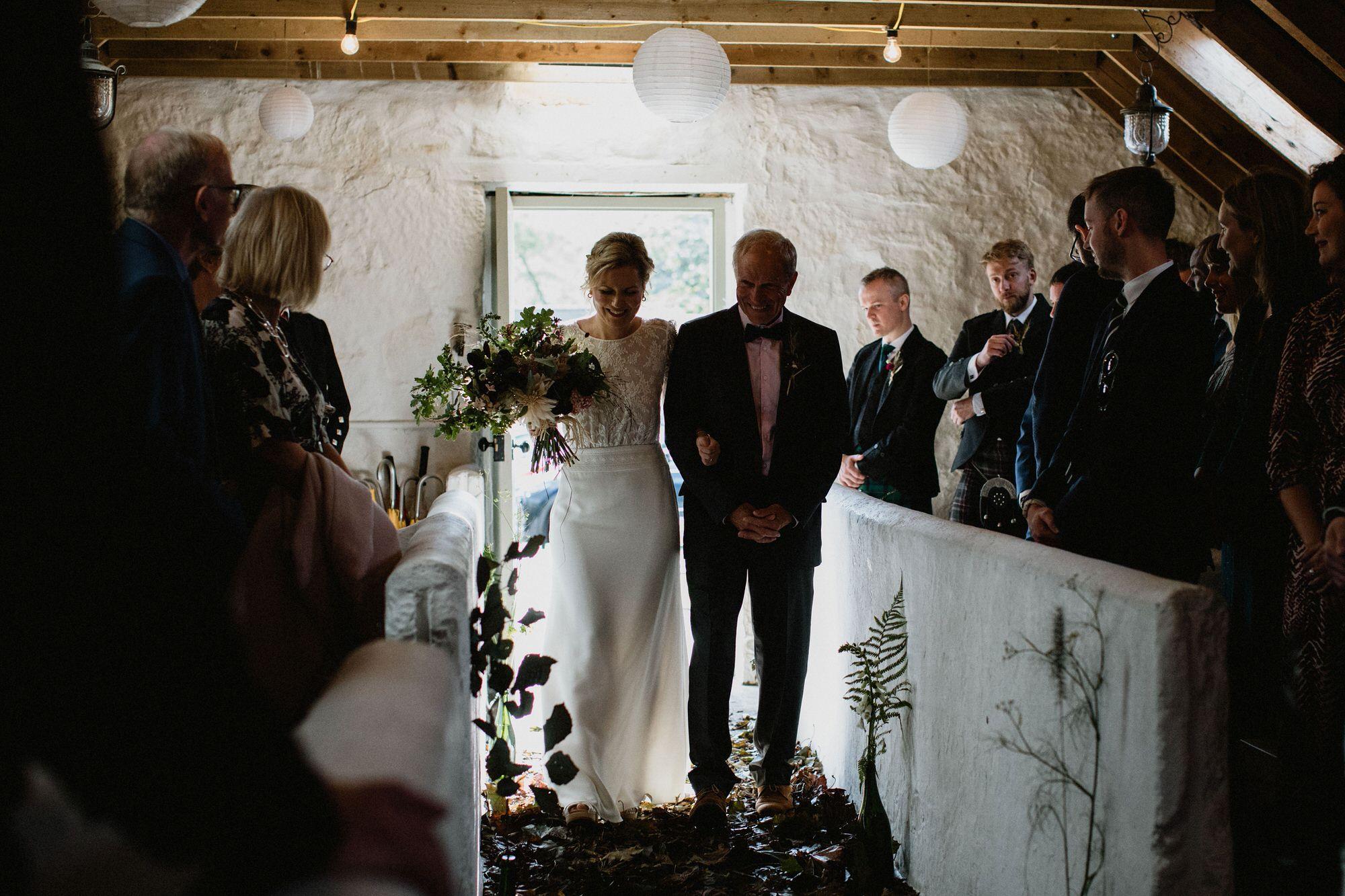 015 TIN SHED KNOCKRAICH WEDDING AUTUMN ZOE ALEXANDRA PHOTOGRAPHY