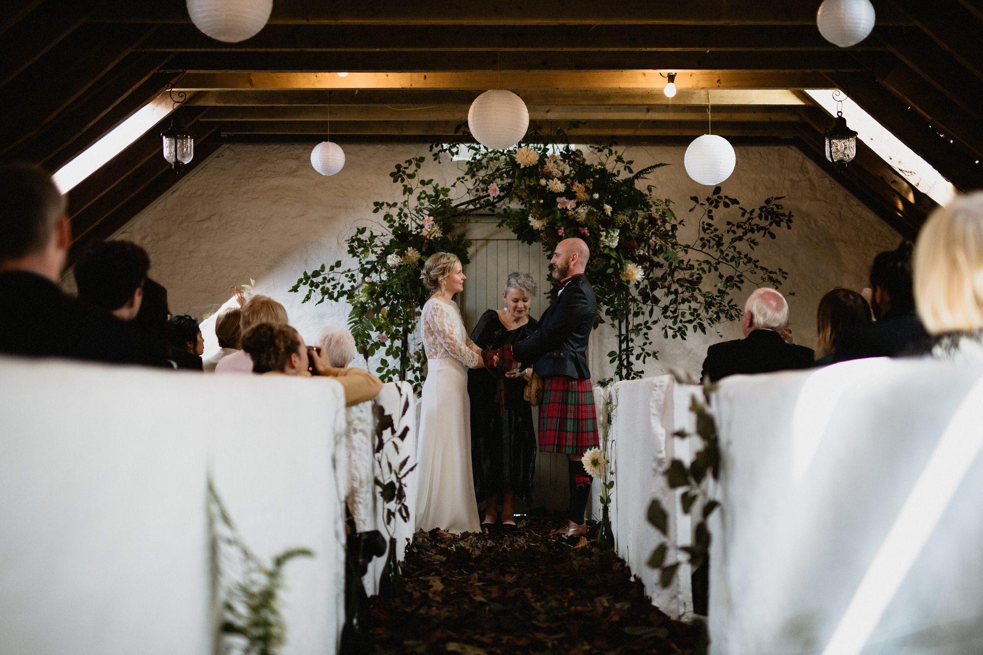 018 TIN SHED KNOCKRAICH WEDDING AUTUMN ZOE ALEXANDRA PHOTOGRAPHY