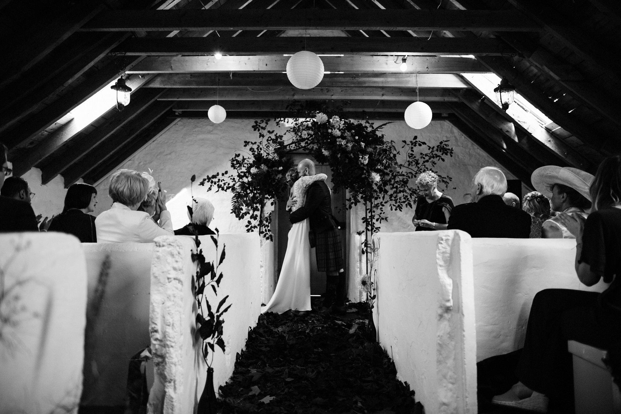 020 TIN SHED KNOCKRAICH WEDDING AUTUMN ZOE ALEXANDRA PHOTOGRAPHY