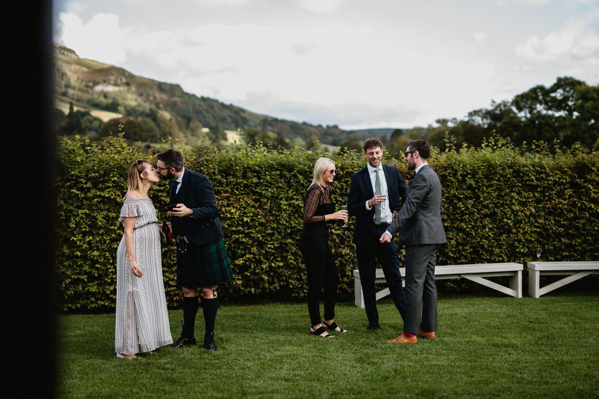 031 TIN SHED KNOCKRAICH WEDDING AUTUMN ZOE ALEXANDRA PHOTOGRAPHY