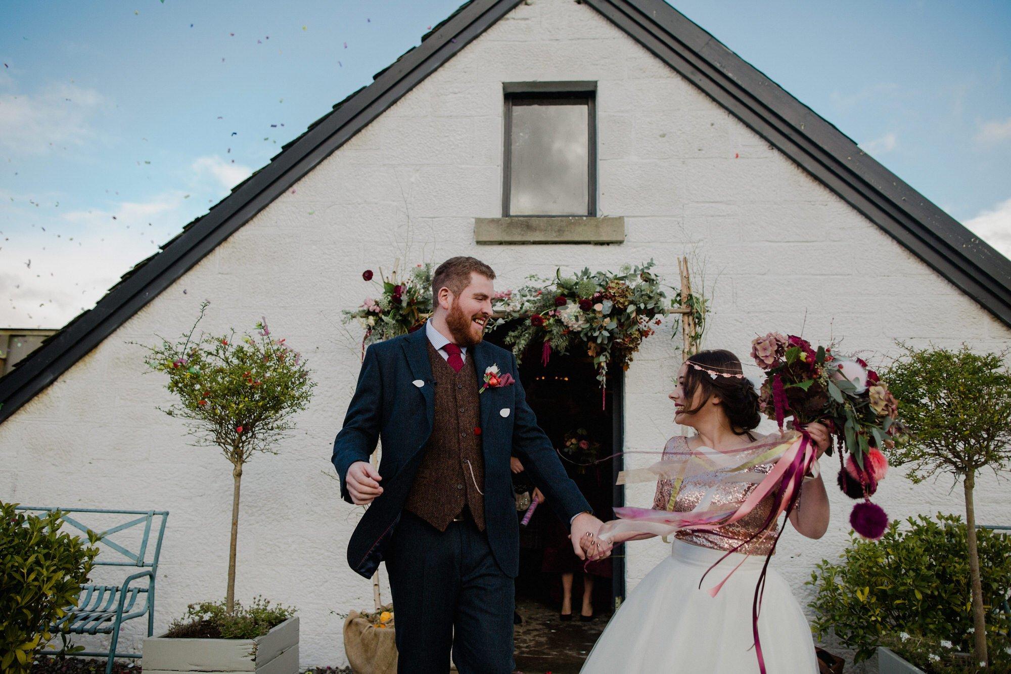 033 TIN SHED KNOCKRAICH FARM WEDDING ALTERNATIVE BRIDE ZOE ALEXANDRA PHOTOGRAPHY