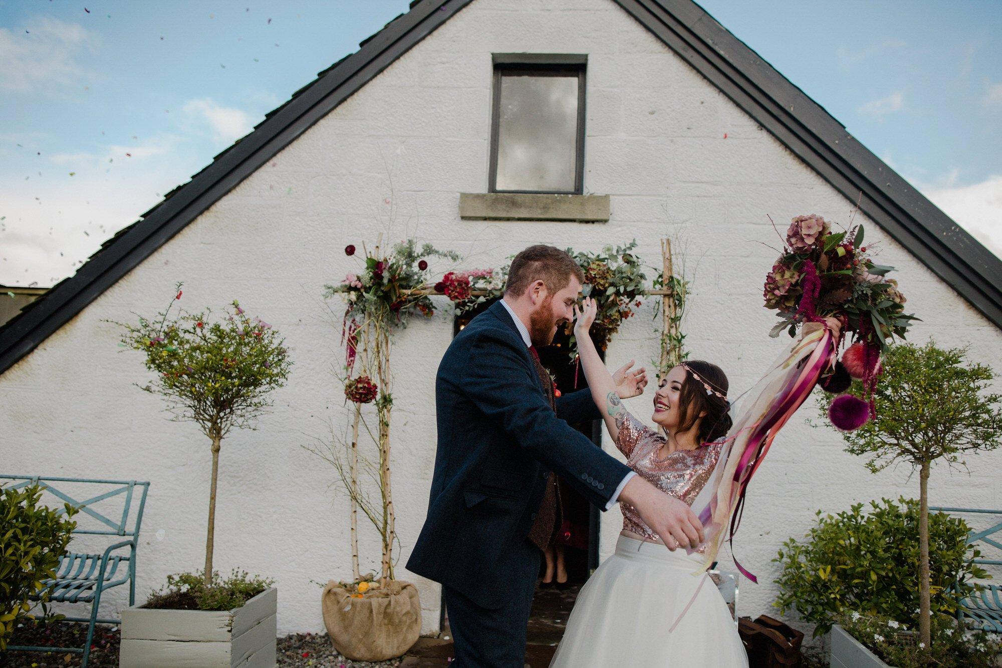 034 TIN SHED KNOCKRAICH FARM WEDDING ALTERNATIVE BRIDE ZOE ALEXANDRA PHOTOGRAPHY