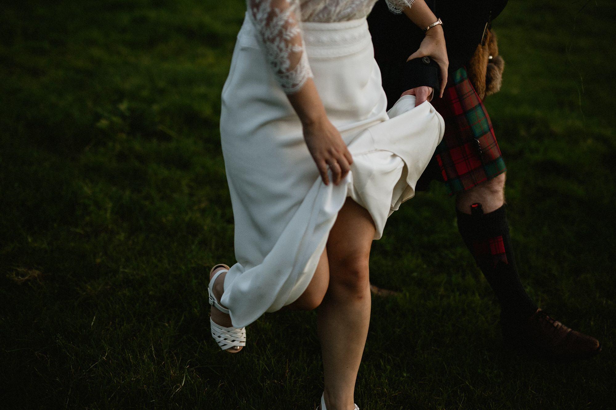 064 TIN SHED KNOCKRAICH WEDDING AUTUMN ZOE ALEXANDRA PHOTOGRAPHY