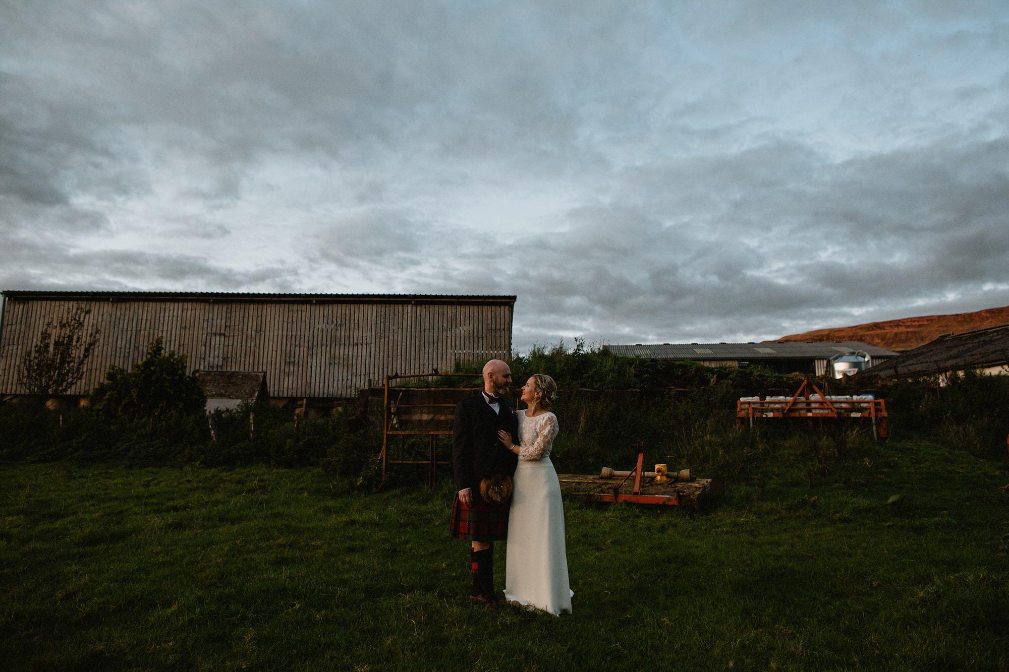 067 TIN SHED KNOCKRAICH WEDDING AUTUMN ZOE ALEXANDRA PHOTOGRAPHY