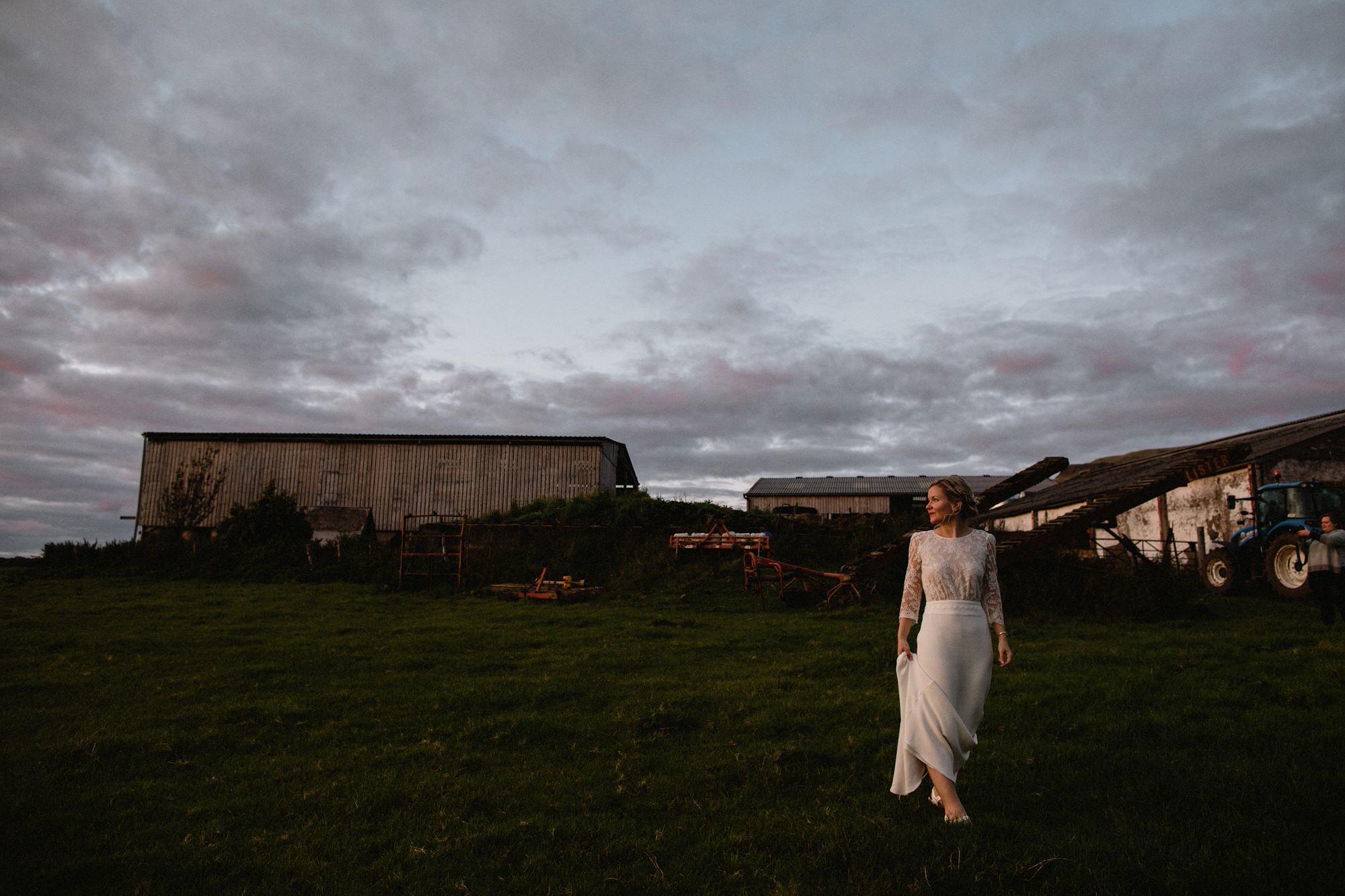 070 TIN SHED KNOCKRAICH WEDDING AUTUMN ZOE ALEXANDRA PHOTOGRAPHY