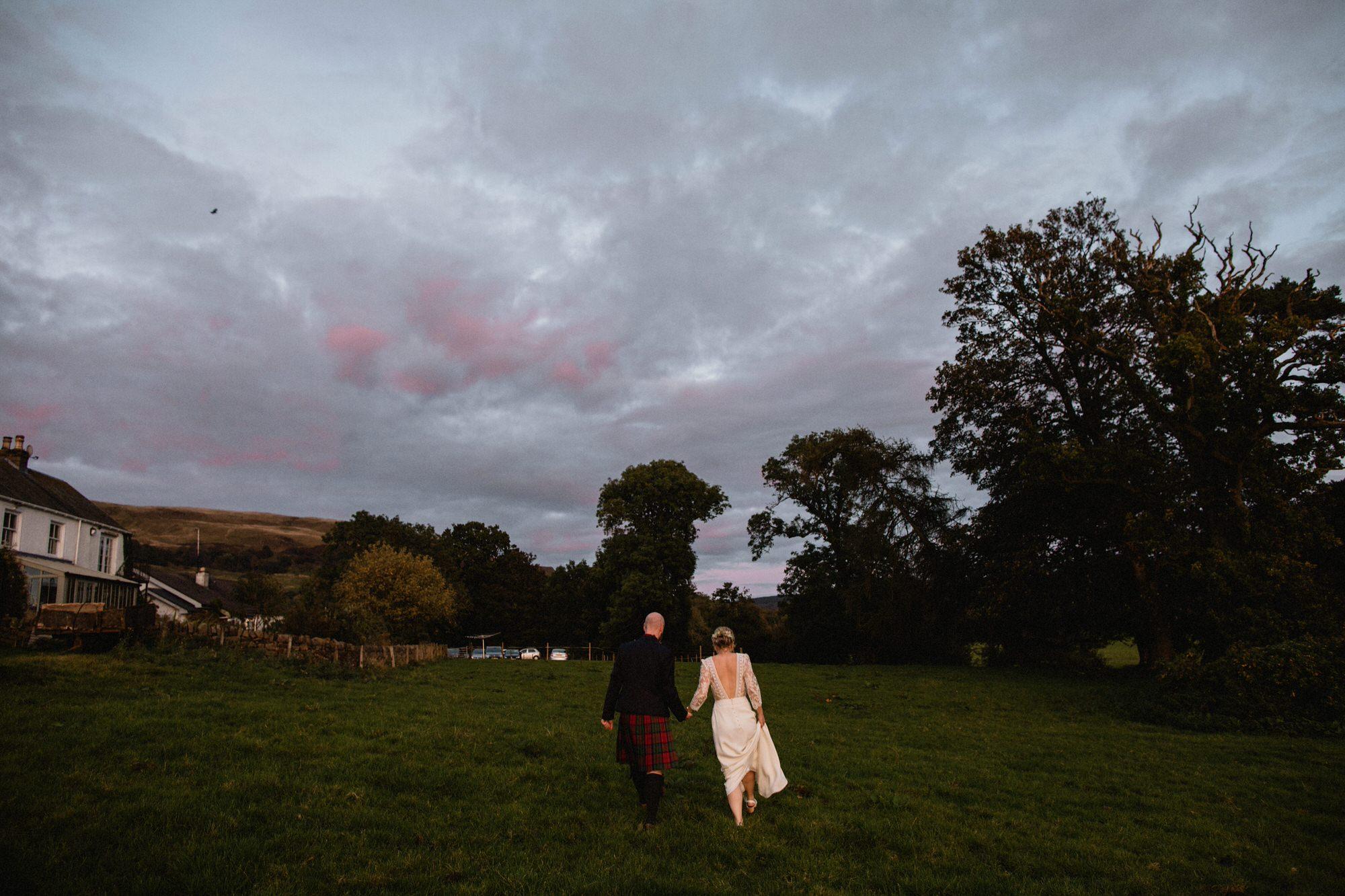 071 TIN SHED KNOCKRAICH WEDDING AUTUMN ZOE ALEXANDRA PHOTOGRAPHY