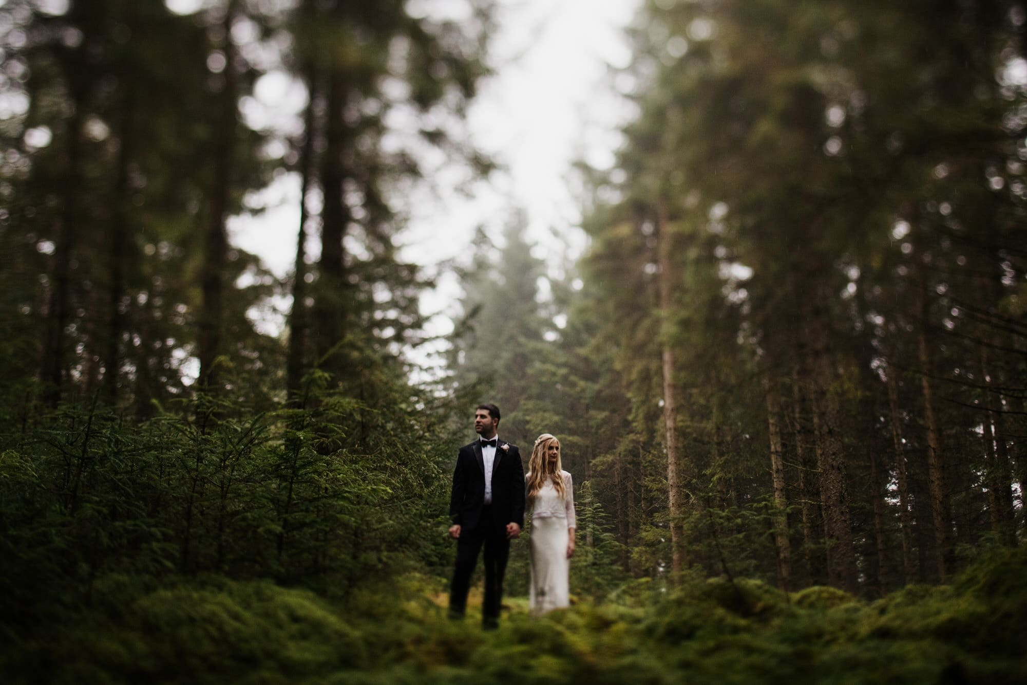 LOCH DRUNKIE TROSSACHS STIRLING ELOPEMENT TILT SHIFT PORTRAIT ZOE ALEXANDRA PHOTOGRAPHY