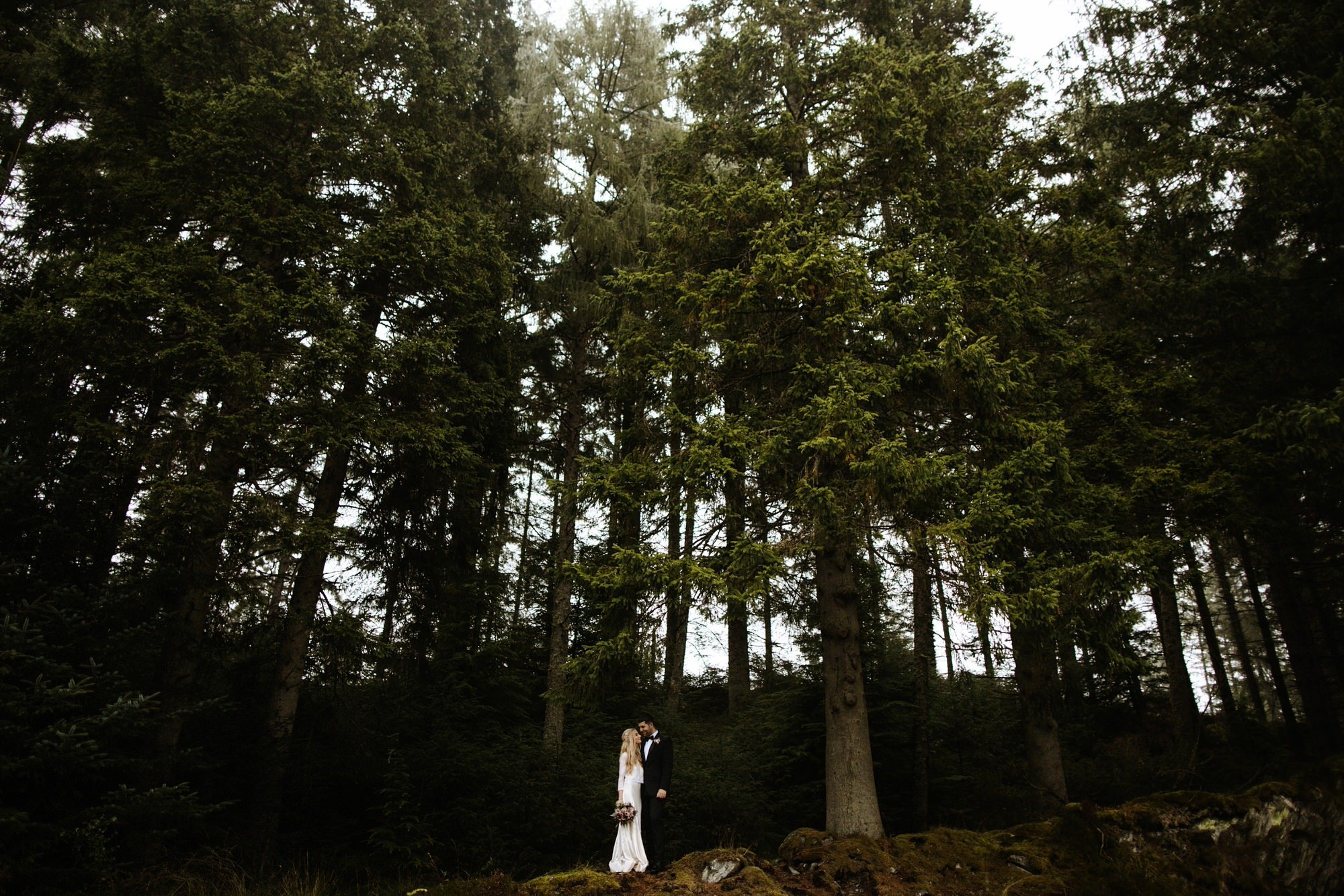 LOCH DRUNKIE TROSSACHS STIRLING ELOPEMENT ZOE ALEXANDRA PHOTOGRAPHY