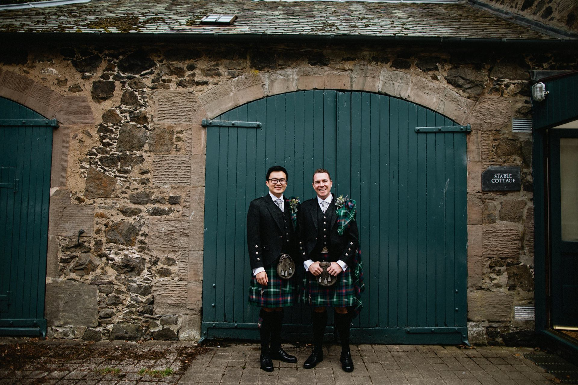 cottage inchyra byre stable Wedding
