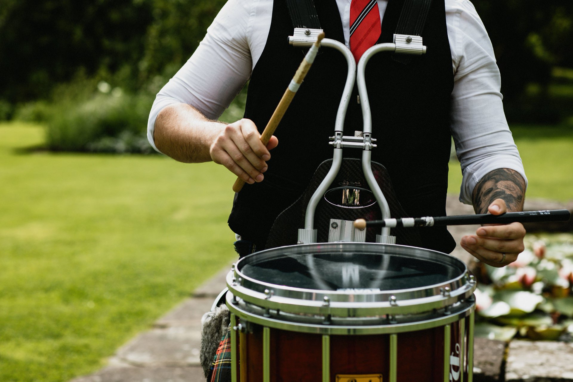 drummer pipe band