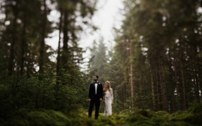 Trossachs Elopement – Three Lochs Forest Drive | Anna-Rose and Graham