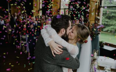 How to get the Best Confetti Wedding Photos