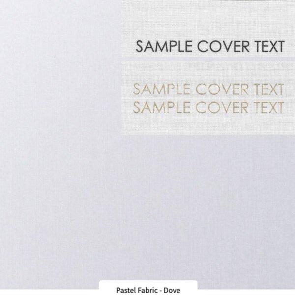 Portfolio cover choice Dove