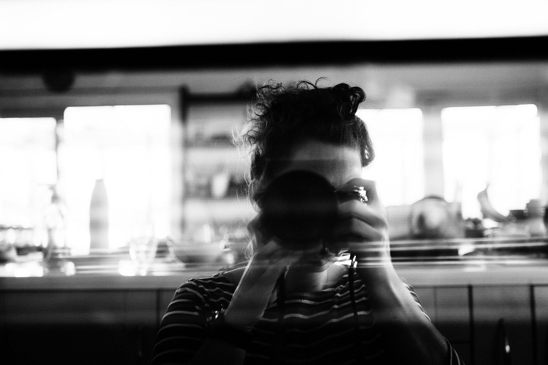 self portrait camera reflection